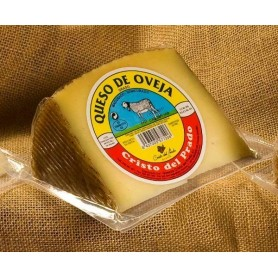 Porcion de queso de oveja de media curacion. (450 g. aprox.)