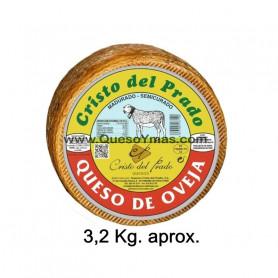 Queso Semicurado de oveja grande. (3,250 Kg. aprox.)