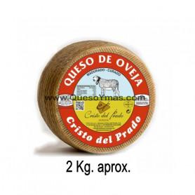 Queso Curado de oveja mediano. (2,100 Kg. aprox.)