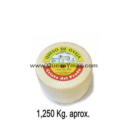 Queso Tierno de oveja mini. (1,250 Kg. aprox.)