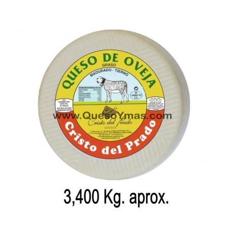Queso Tierno de oveja Grande. (3,200 Kg. aprox.)