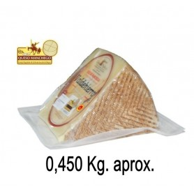 Porcion de Queso Manchego Semicurado (450 g. aprox.)