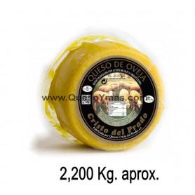 Queso de leche cruda en Aceite de Oliva. (2,200 Kg. aprox.)