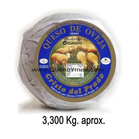 Queso de oveja de leche cruda y en Manteca de cerdo Ibérico y Romero