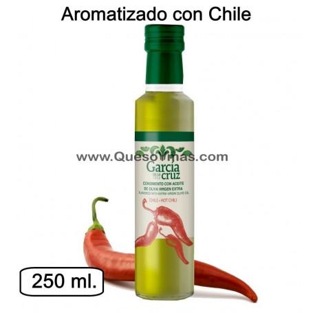 Aceite de Oliva Virgen Extra aromatizado con Chile.