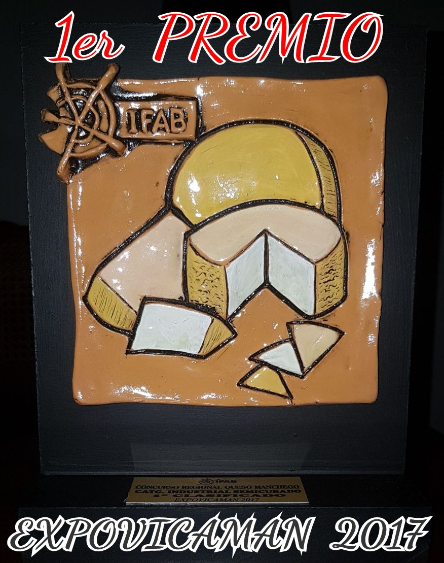 1º Premio EXPOVICAMAN - Queso Manchego Semicurado